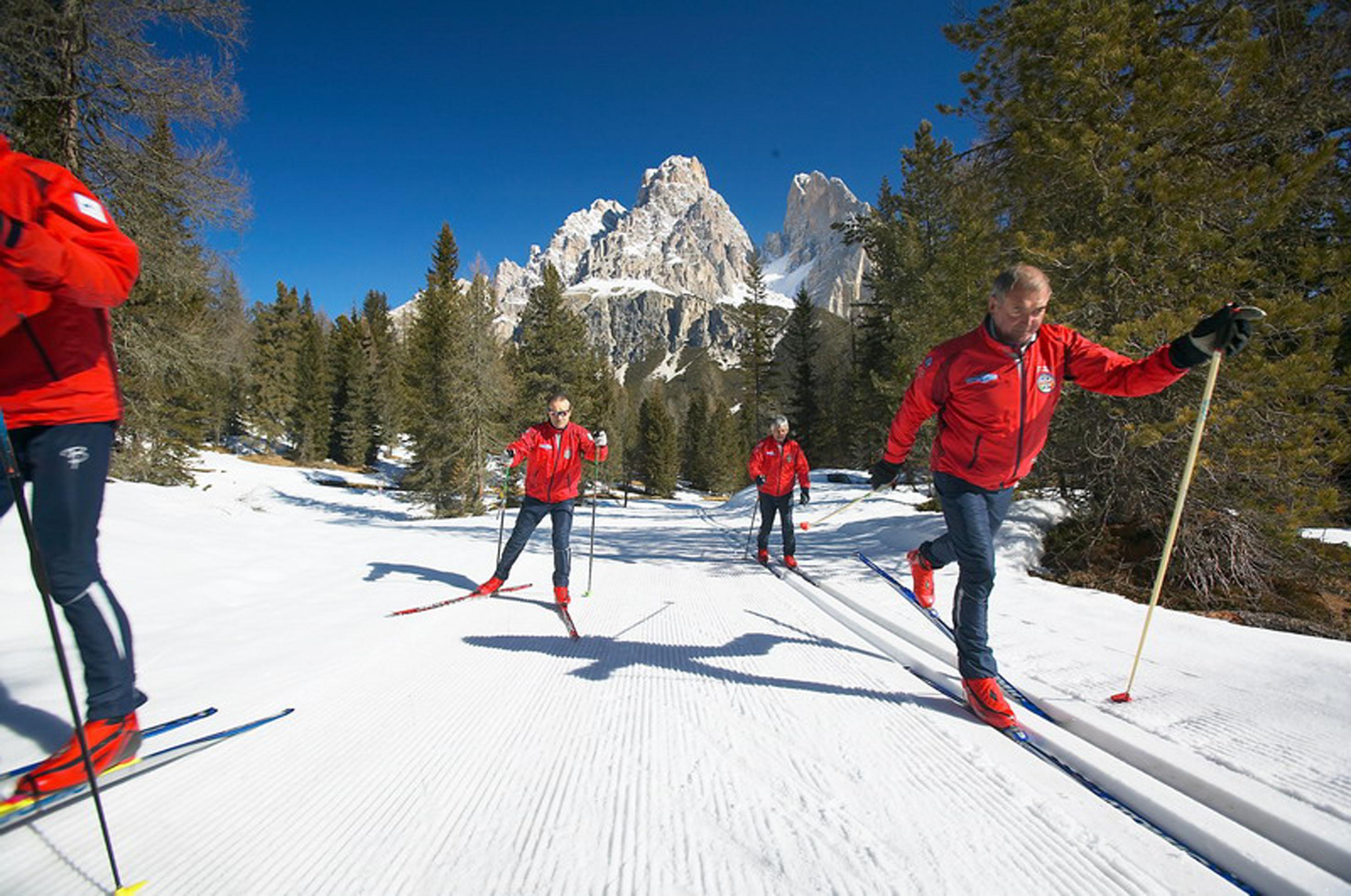 Dolomiti Nordicski: aperti i 1300 km di piste da fondo