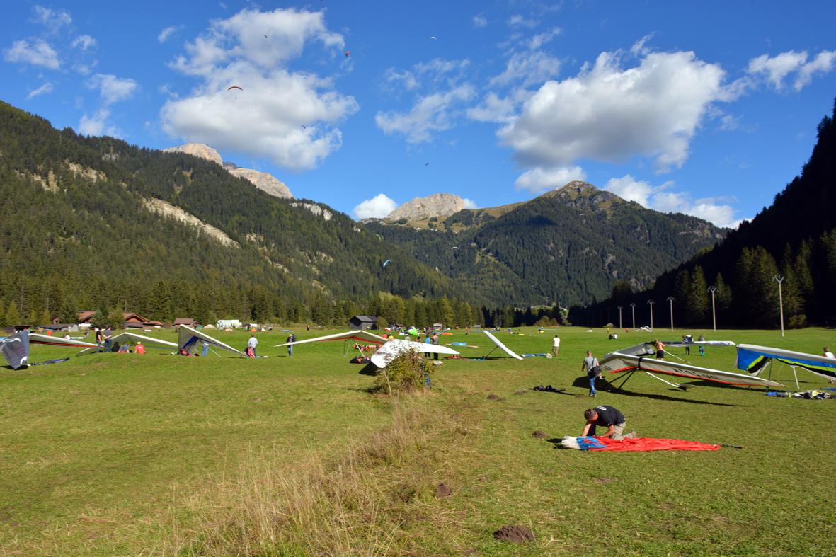 Volo libero in Trentino ed Alto Adige