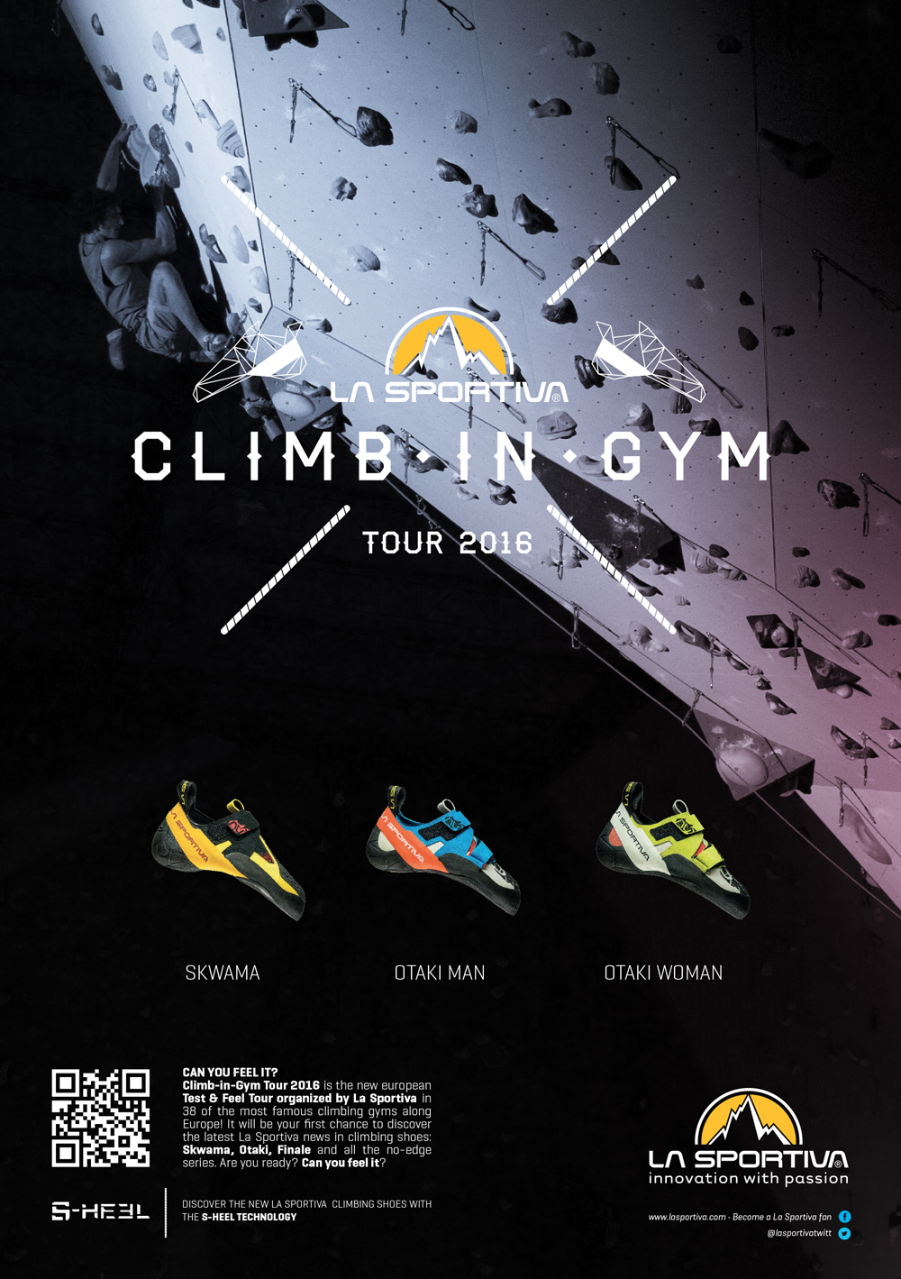 Tour europeo con La Sportiva Climb-in-Gym