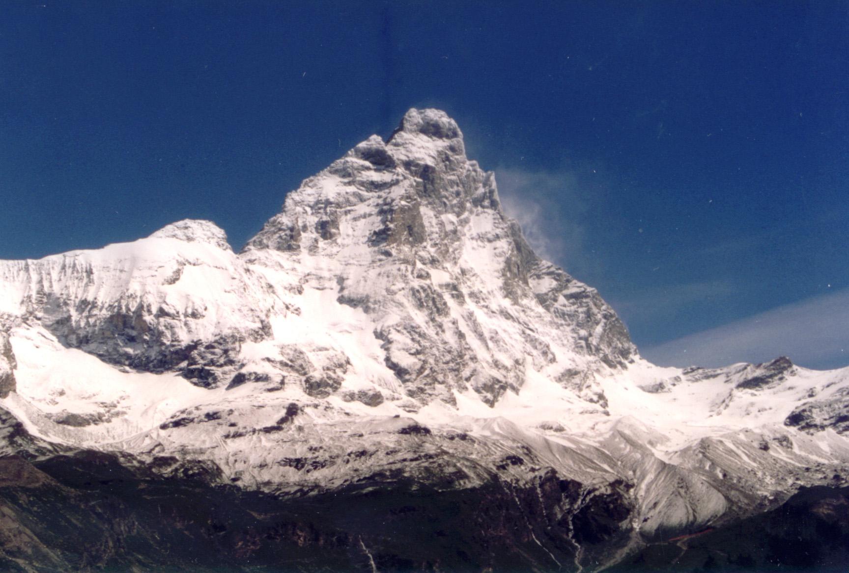 Innamorati in volo sulle Alpi