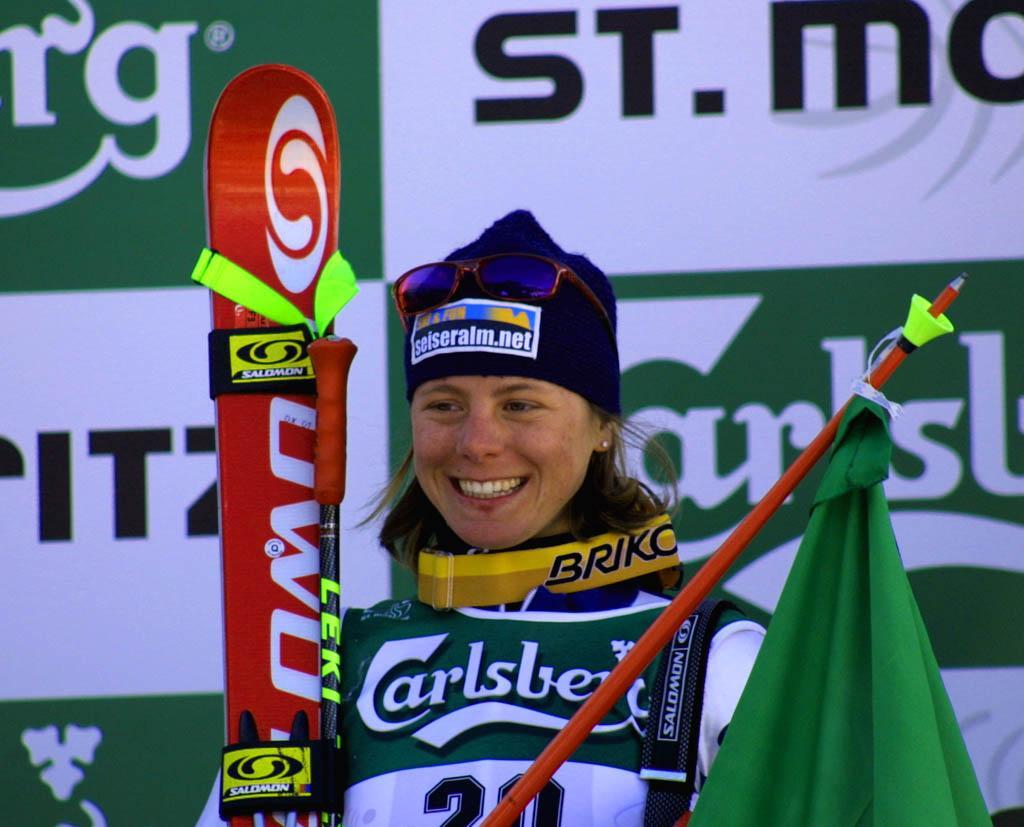 Denise Karbon, un sorriso per L'Italia