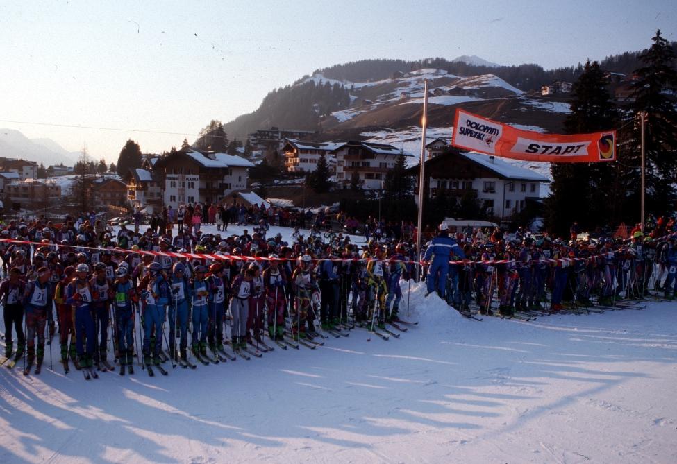 Sellaronda Skimarathon ai blocchi di partenza