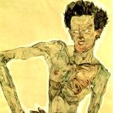 The art of Egon Schiele: thin, nude and exhausted