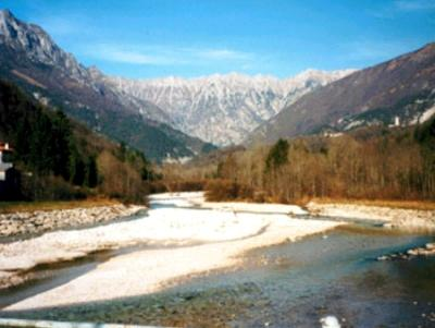 A piedi o in mountainbike in Alta Val Torre