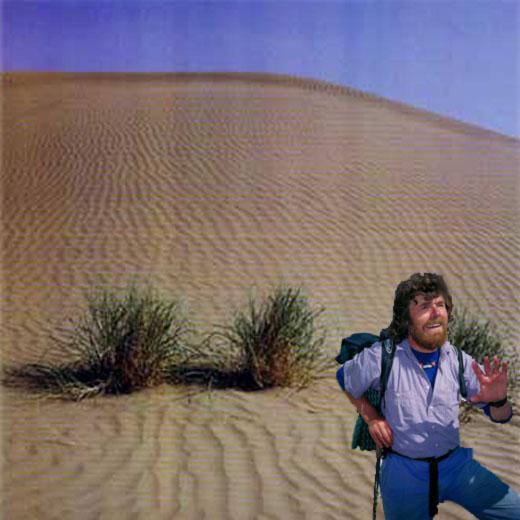 Messner: il re della sabbia