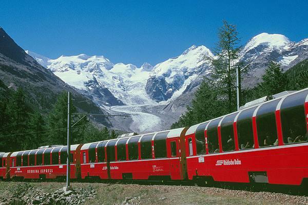 La Ferrovia Retica compie 125 anni