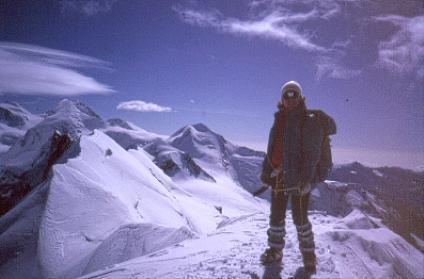 Alpiniste valdostane in piena attività