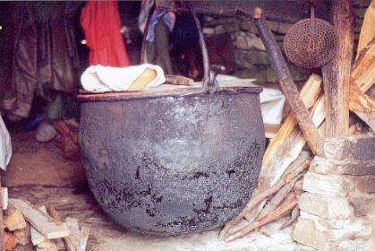 22 agosto, a Pila si va a pranzo dai pastori