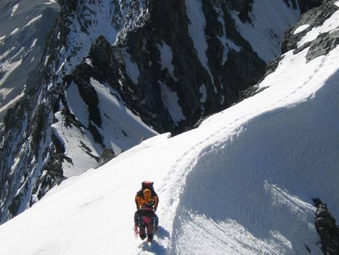 l'impresa alpinistica che cambiò il futuro di Solda