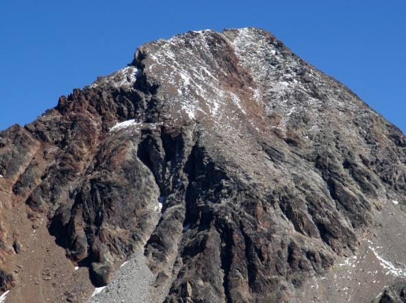 il Bivacco Federigo al Col Carrel, 2897 m