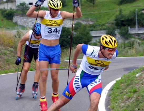 I tricolori di skiroll in Presolana