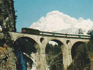 Novant'anni di treno in Cadore