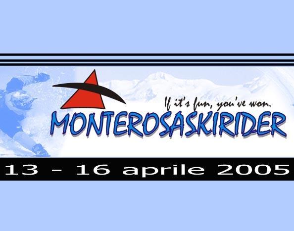 Monte Rosa Ski Rider