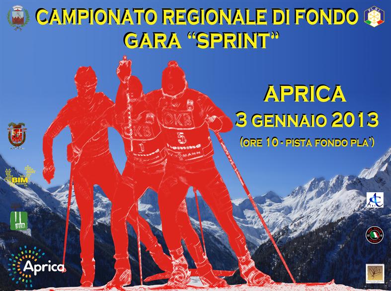 Campionato regionale sprint di fondo ad Aprica