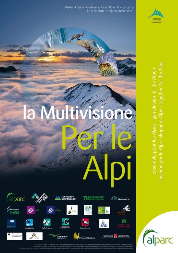 AlpArc presenta la multivisione «per le Alpi»