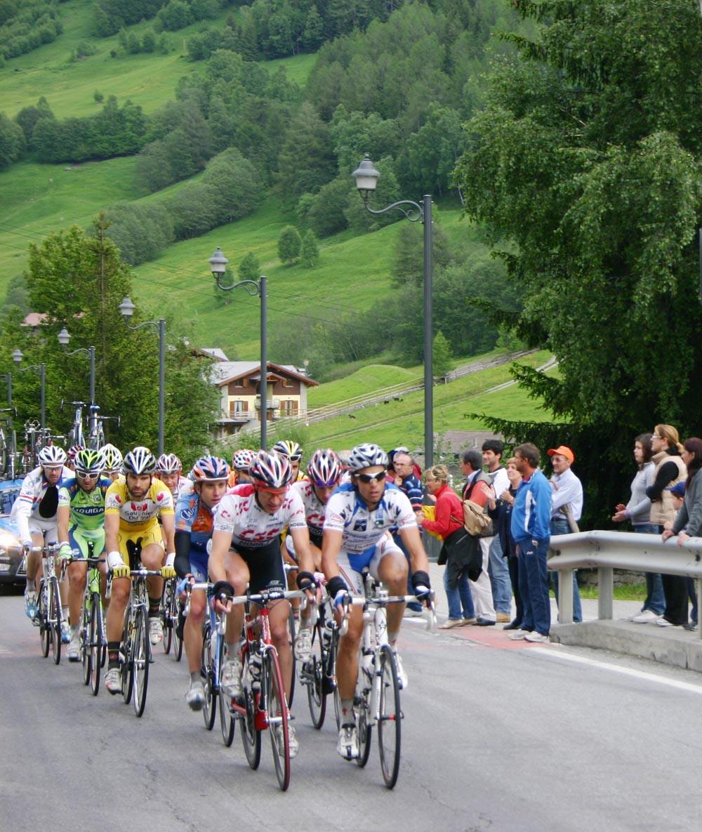 Aprica: sale la febbre del Giro d'Italia
