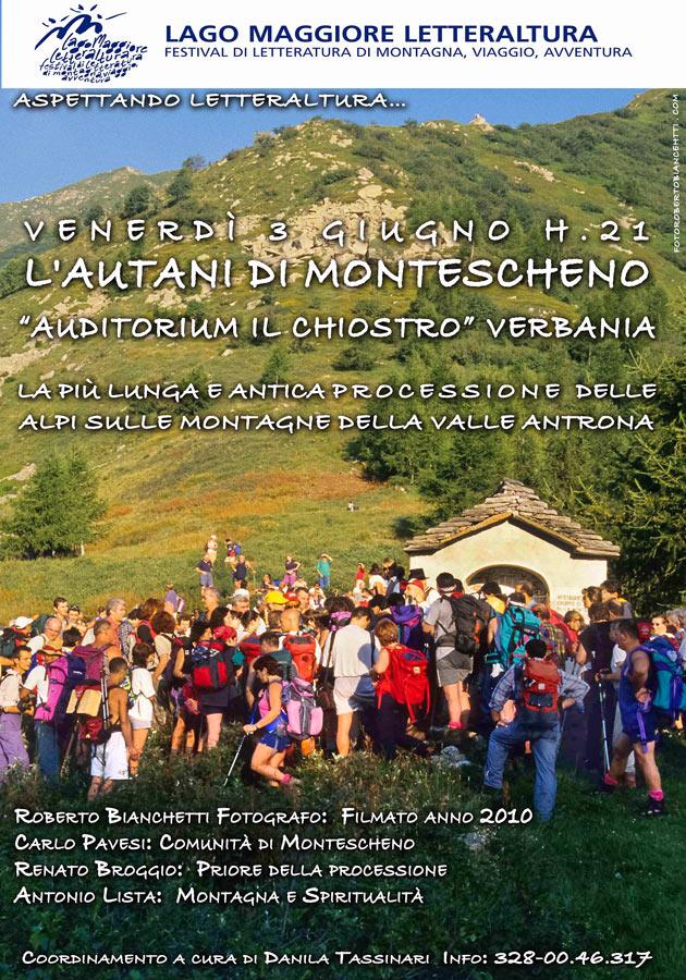 Montescheno e la Valle Antrona protagoniste a LetterAltura