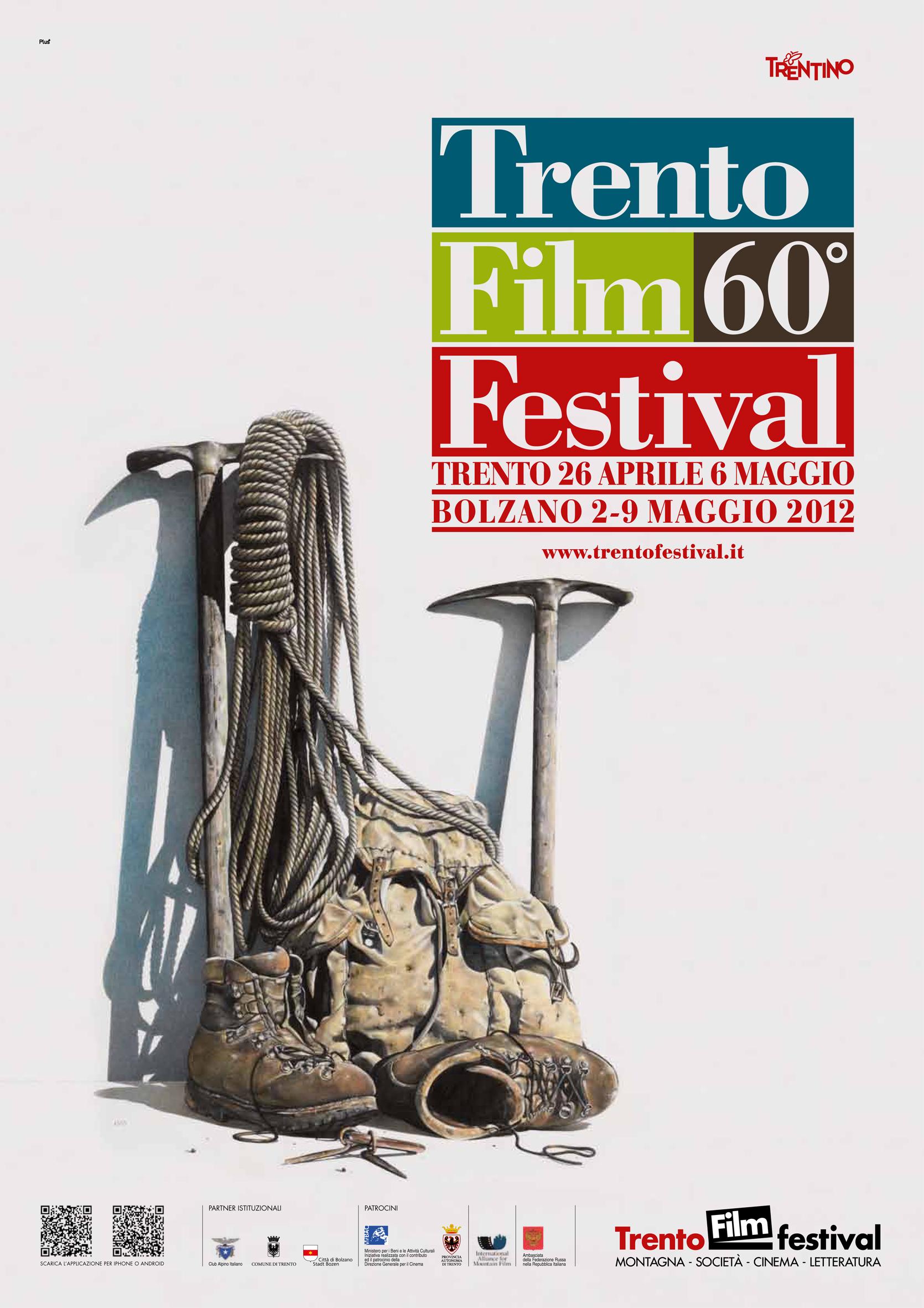 Il manifesto del 60simo Filmfestival di Trento