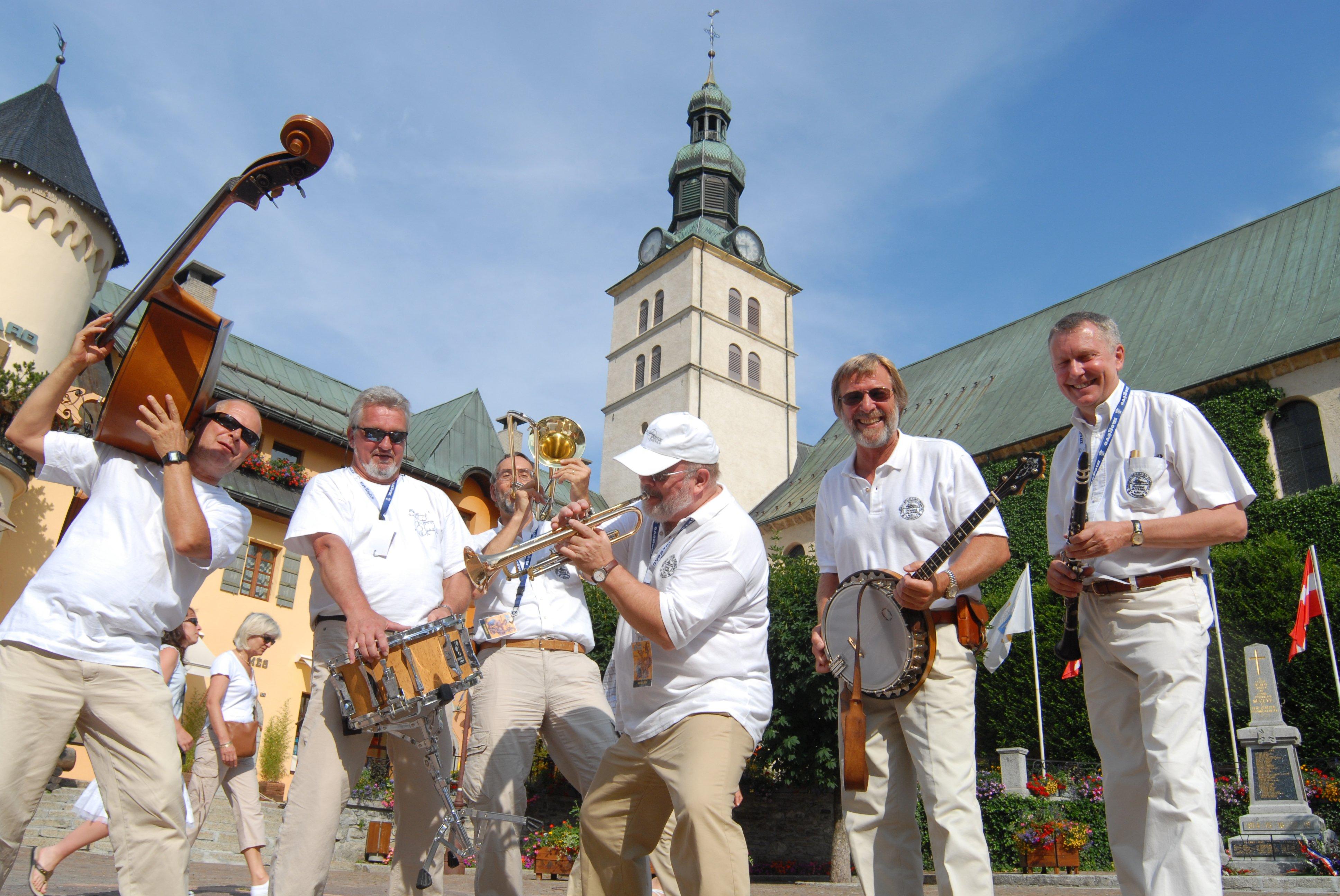 Jazz sulle Alpi a Megéve, in Alta Savoia
