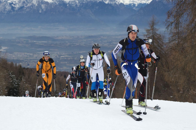 """Nevegal, campionati italiani """"Vertical"""" e """"Staffetta"""" di scialpinismo"""