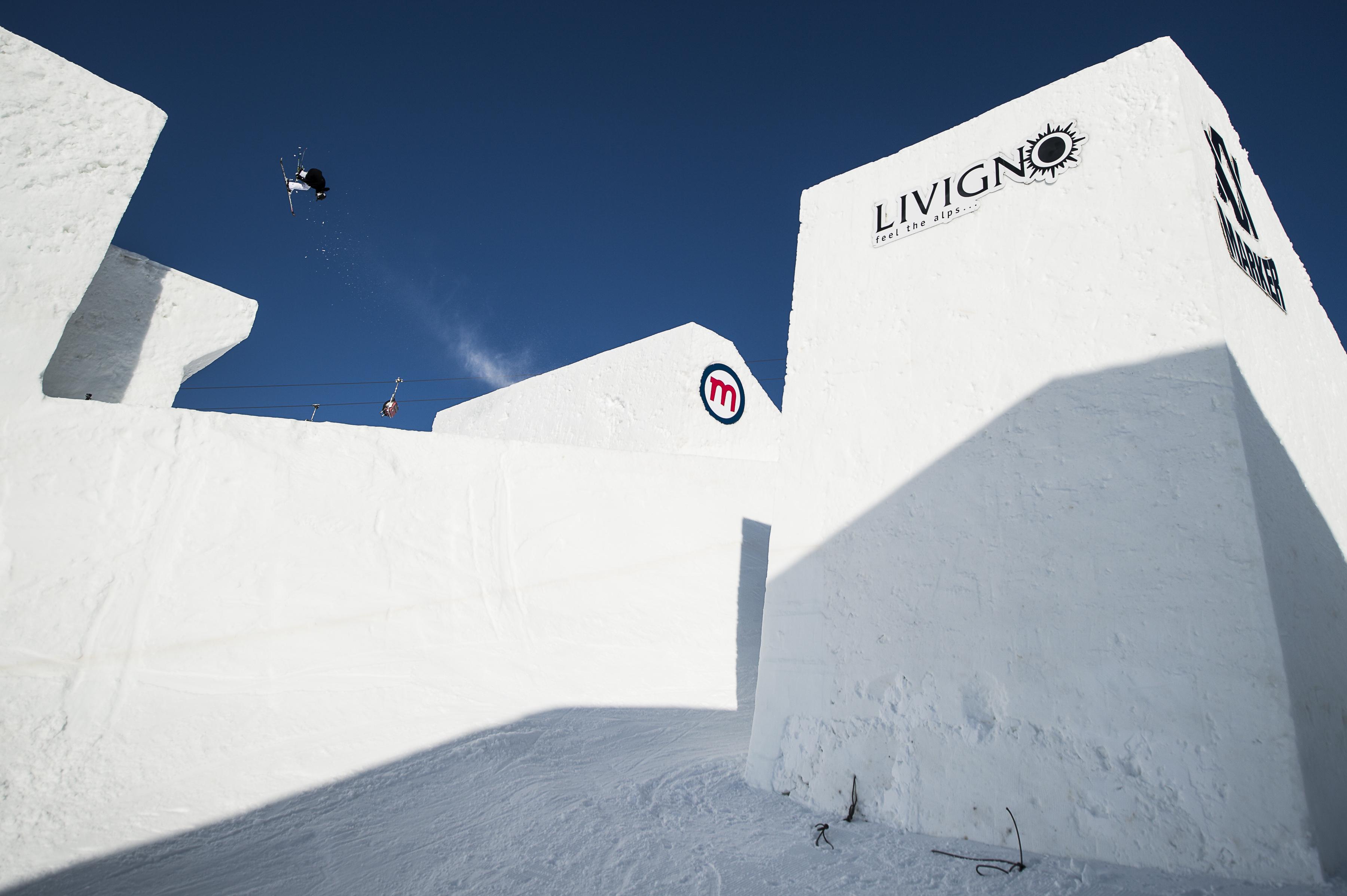 Nine Queens di Livigno: freeski e snowboard