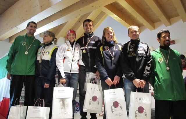Orienteering, sull'Altopiano di Asiago i campionati italiani 2011. Le classifiche