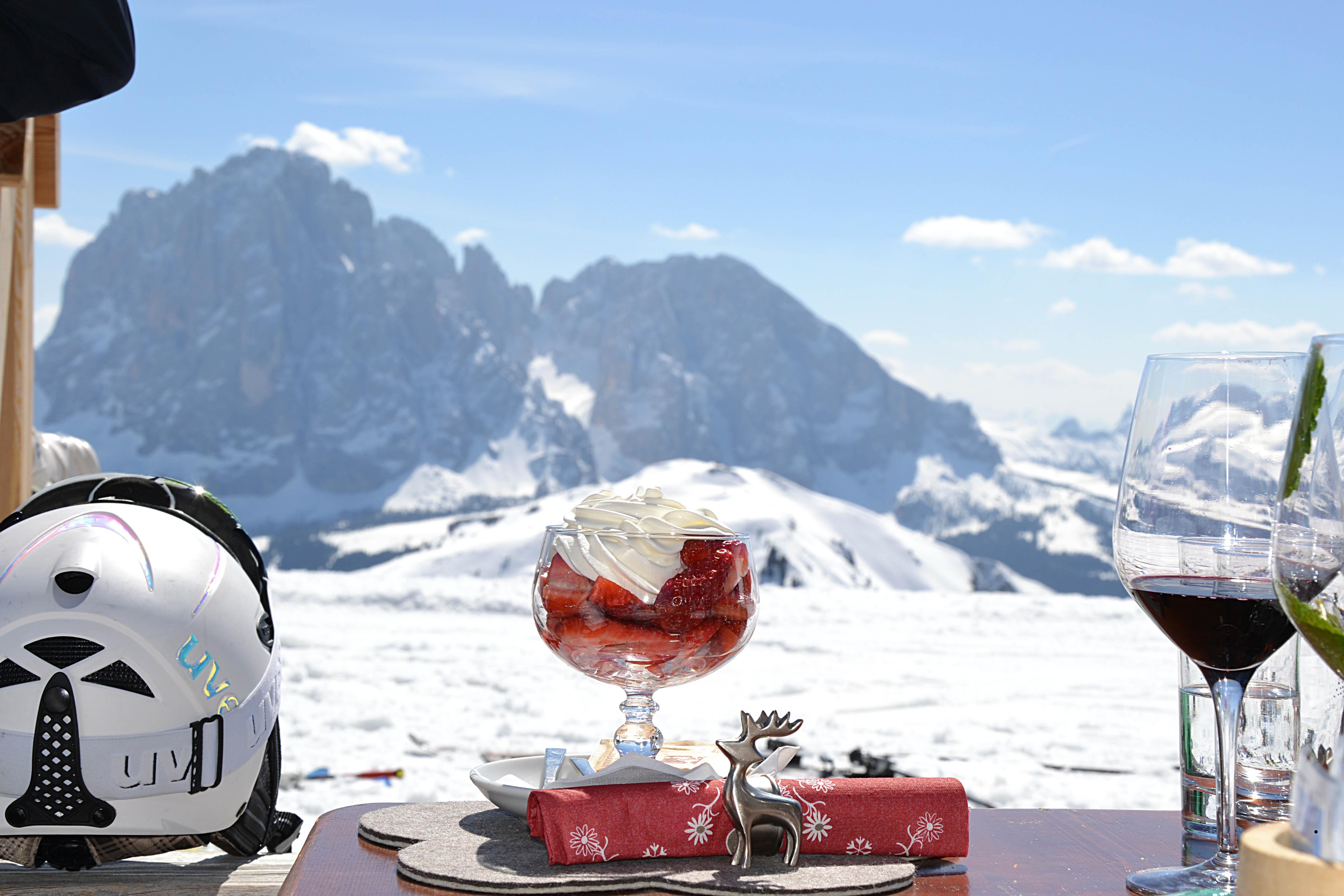 Val Gardena: rifugi e ristoranti sci ai piedi