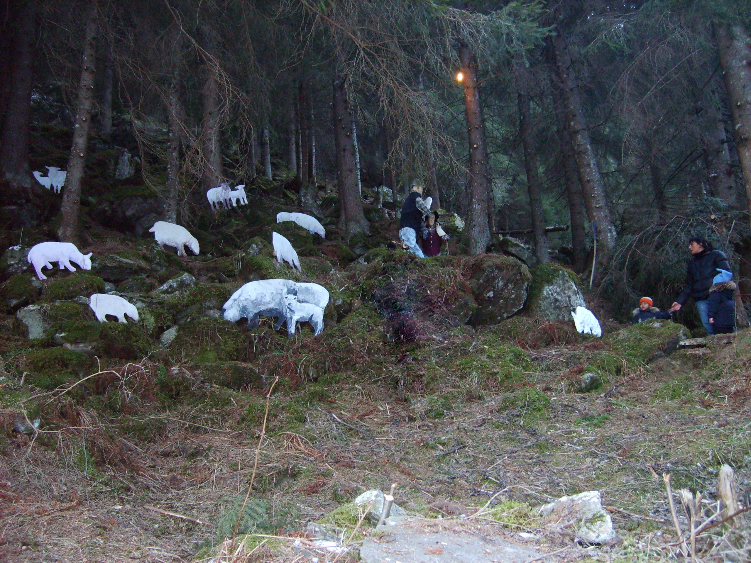 "Valtellina: Natale nella ""valle dei presepi"""