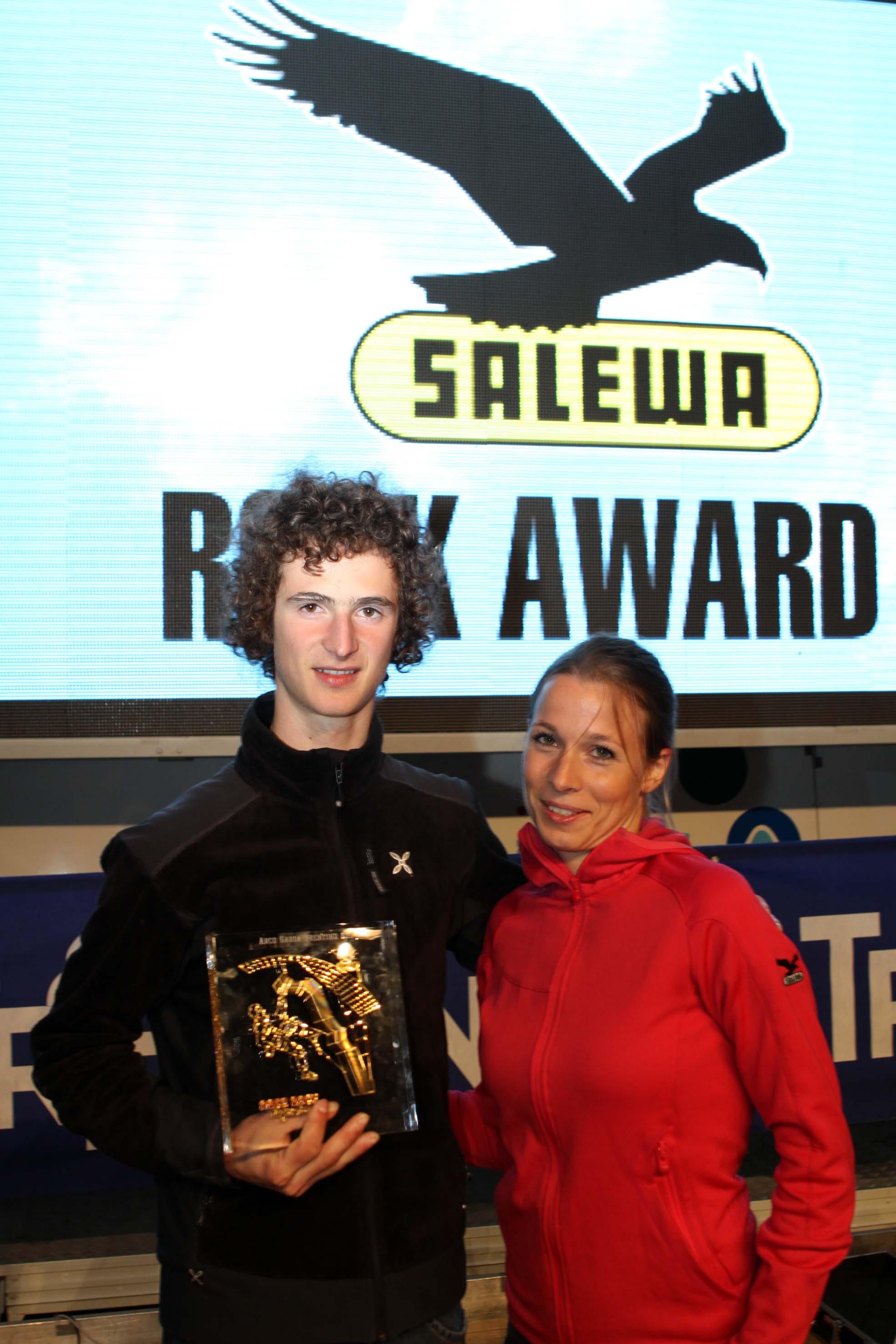 Adam Ondra vince il Salewa Rock Award 2011