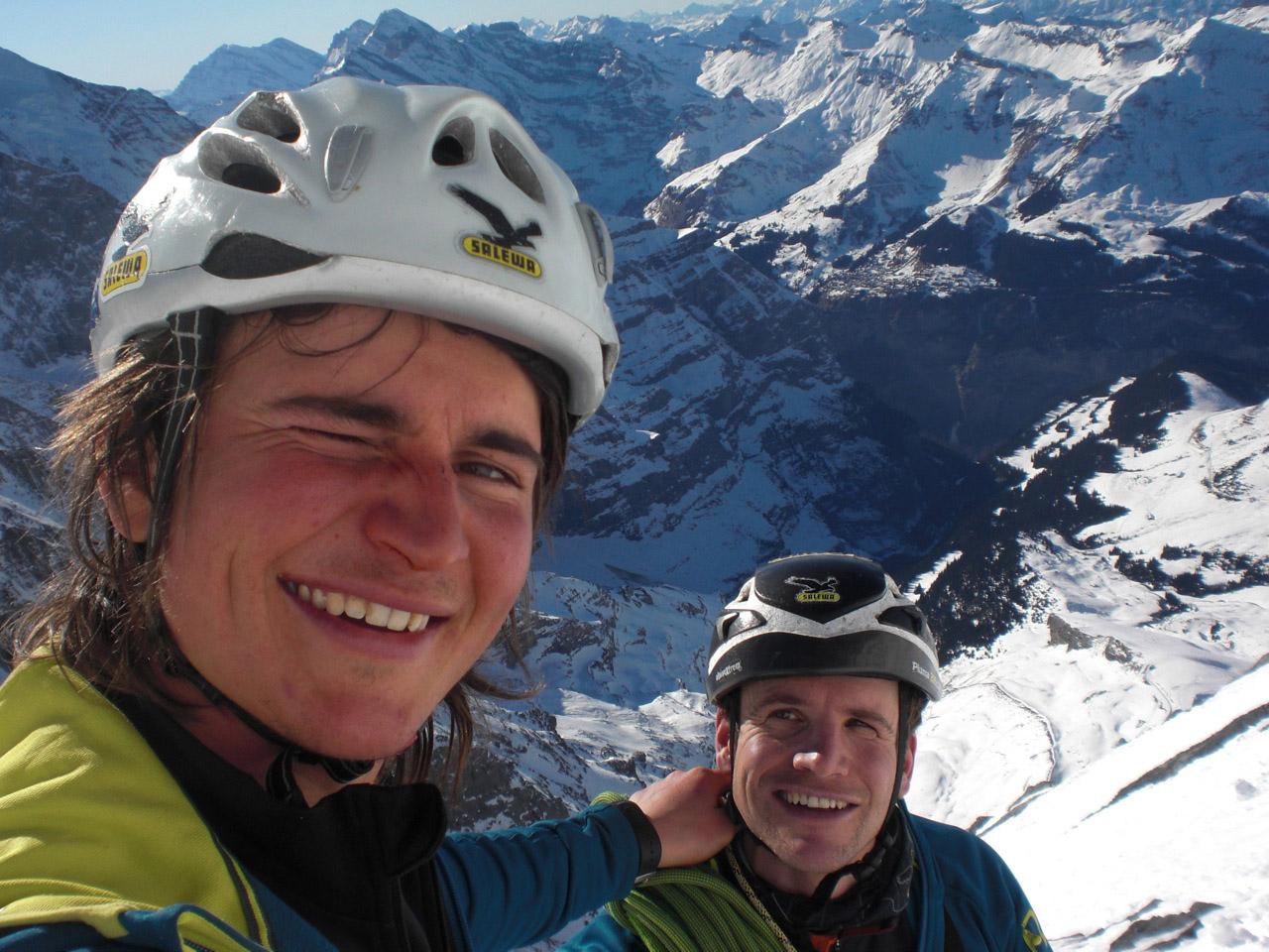 Alpinismo, record di Roger Schaeli e Simon Gietl sulla Nord dell' Eiger