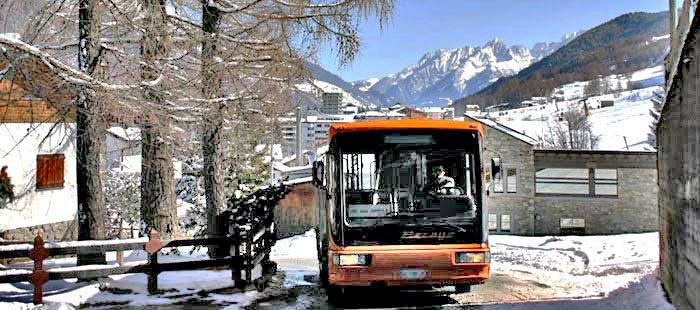 Aprica: tutti a sciare con lo skibus!