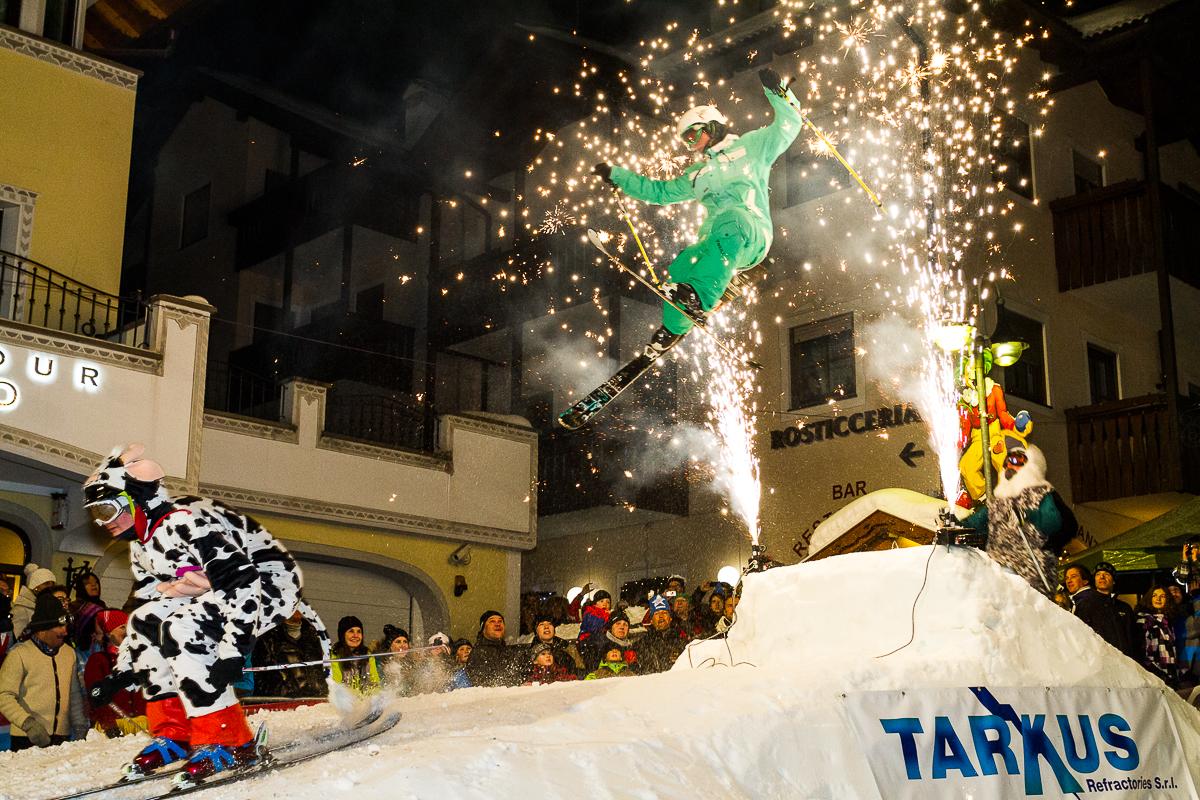 Big Carnival Ski Show in Val Gardena