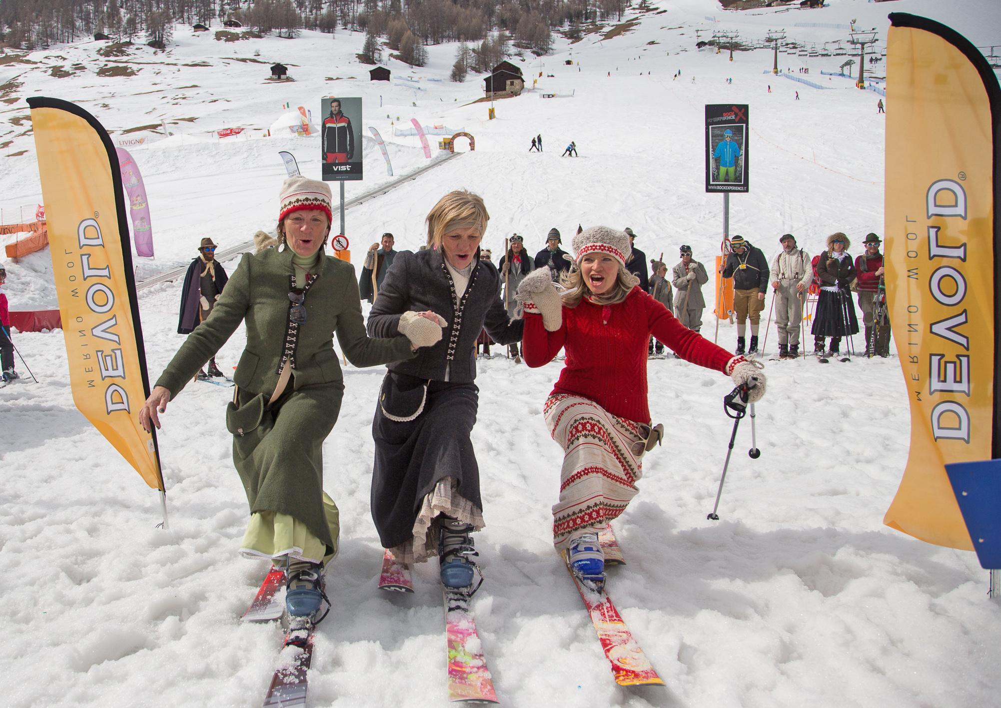 Con Devold alla Skieda 2016