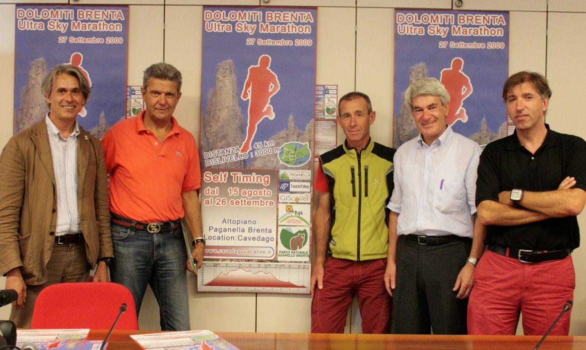 Il 27 settembre la Sky Marathon delle Dolomiti