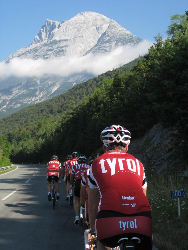 Dal Tirolo austriaco a Torino pedalando per festeggiare i 150 anni dell'unità d'Italia