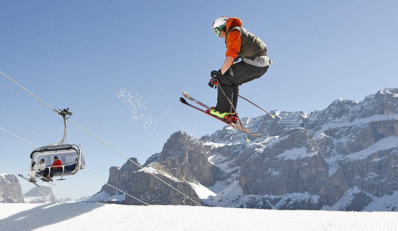 Lunga stagione di sci in Val Gardena