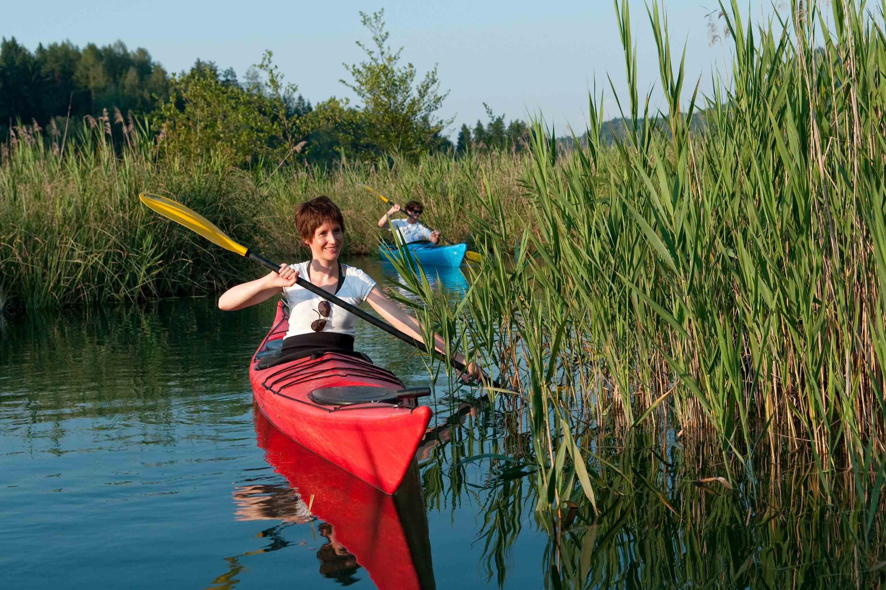 Villach: fine settimana outdoor, in canoa e lungo la via ferrata