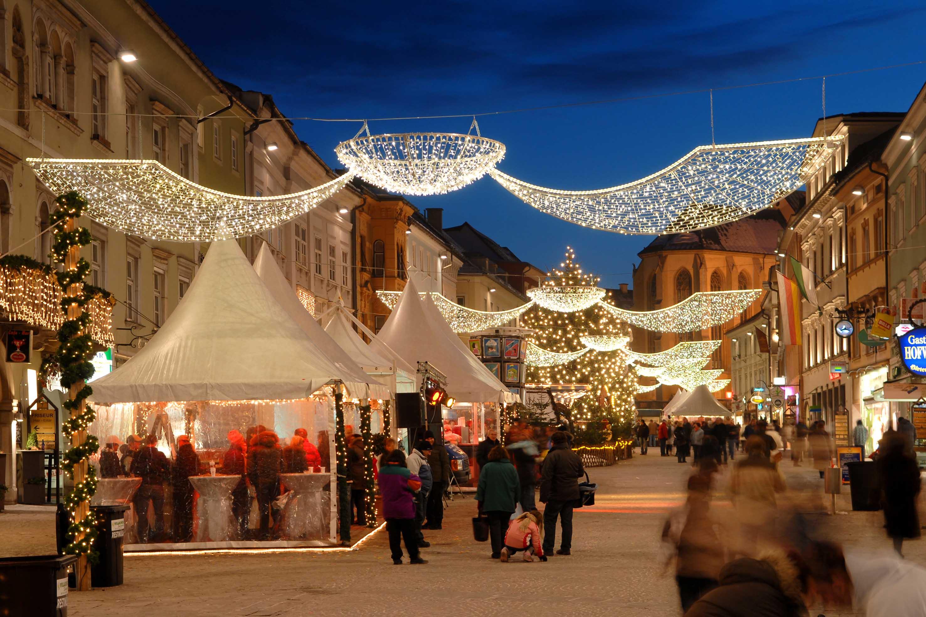 Villach aperti i mercatini di natale