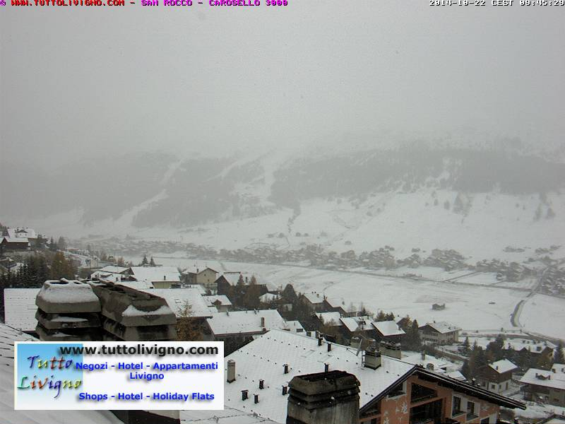 Nevica in montagna