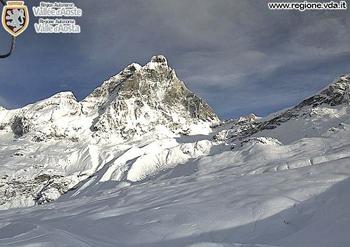 Neve in montagna: fotografie di oggi